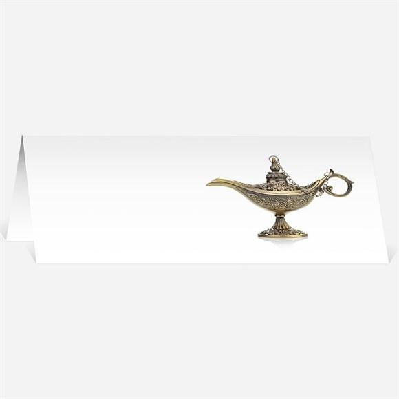 Marque-place mariage Lampe merveilleuse réf.N440191
