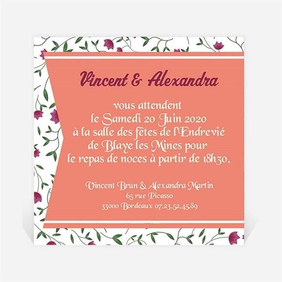 Carton d'invitation mariage Ils se disent Oui ! réf.N300156