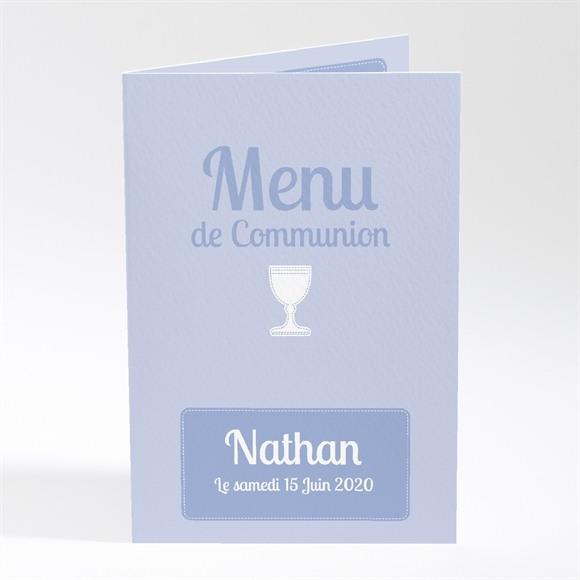 Menu communion Original recto verso réf.N401233