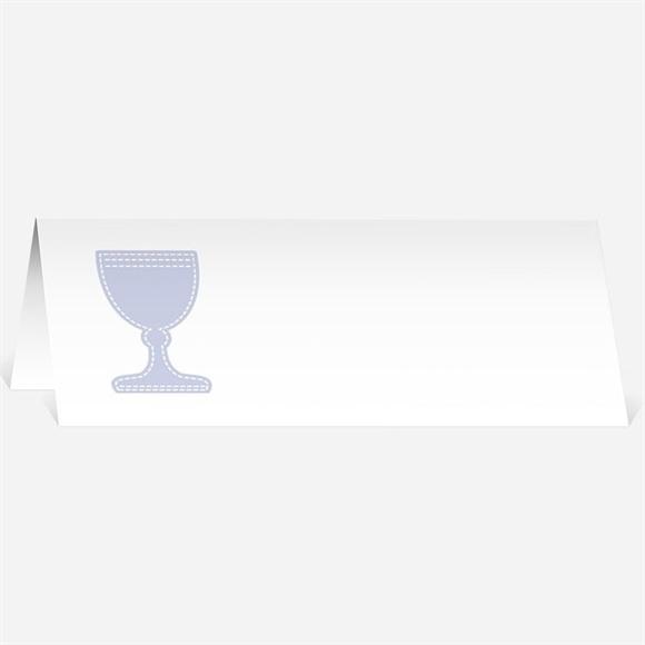 Marque-place communion Original recto verso réf.N440195