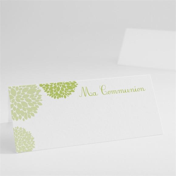 Marque-place communion Cadre gris et lumière réf.N440199