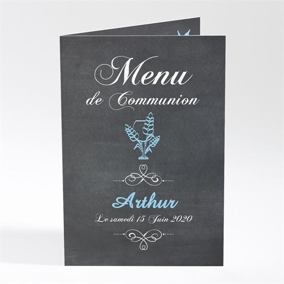 Menu communion Coupe et épis de blé réf.N401245