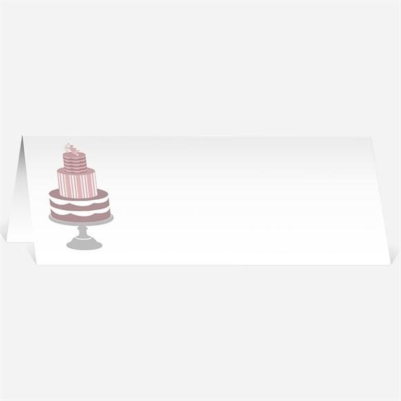Marque-place mariage Festif et vintage réf.N440212