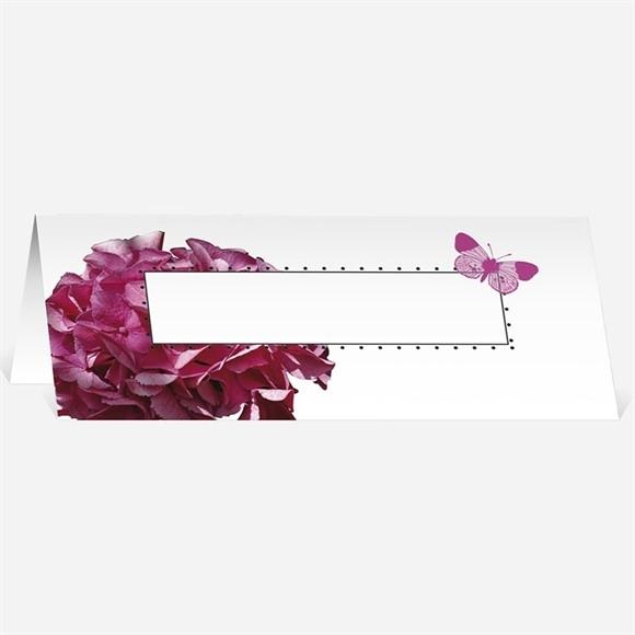 Marque-place mariage Graphique violet réf.N440216