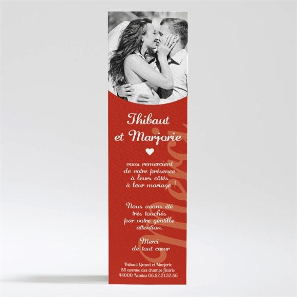 Remerciement mariage Elle & Lui Symboles réf.N200243