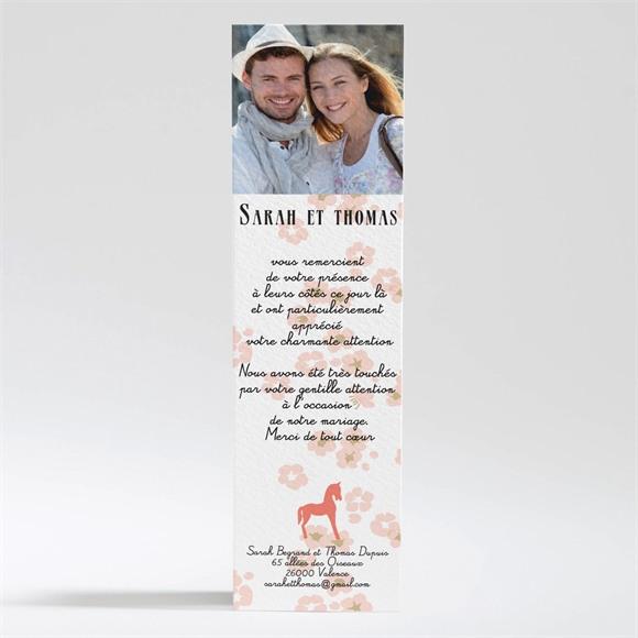 Remerciement mariage Notre Petit Manège réf.N200246