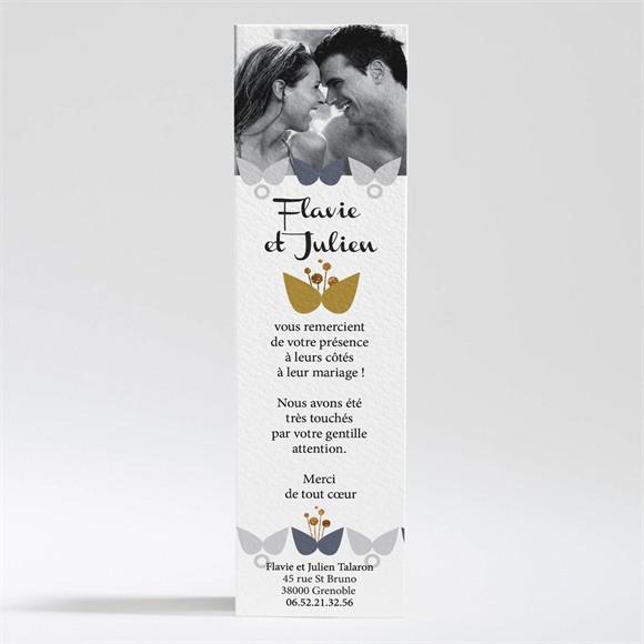 Remerciement mariage Motifs Papillon vintage réf.N200254