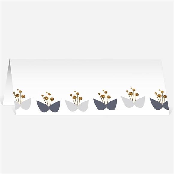 Marque-place mariage Motifs Papillon vintage réf.N440230