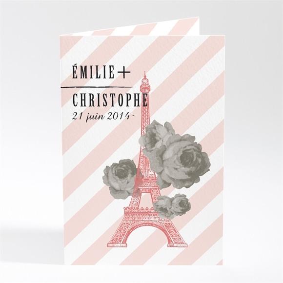 Faire-part mariage Autour de la Tour Eiffel réf.N401270