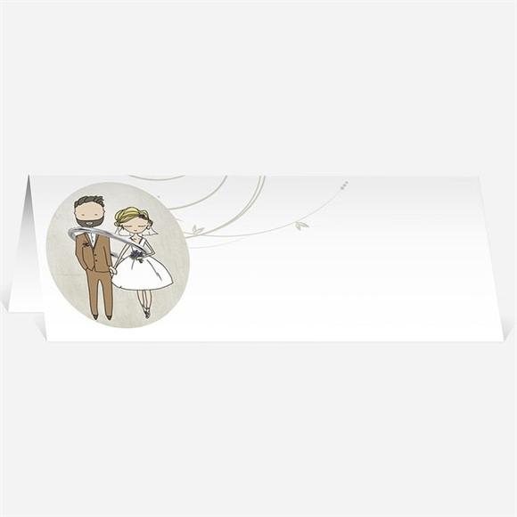 Marque-place mariage Je lui passe la bague au doigt réf.N440243