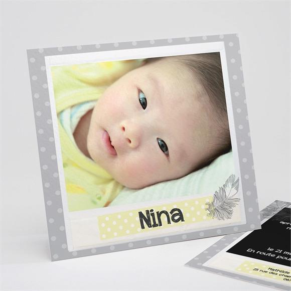 Faire-part naissance Vintage photo réf.N31154