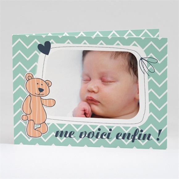 Faire-part naissance Petit Nounours réf.N42124