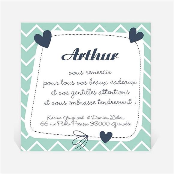 Remerciement naissance Petit Nounours réf.N300178
