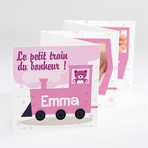 Faire-part naissance Son Petit Train réf.N80022