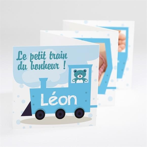 Faire-part naissance Joli Petit Train réf.N80023