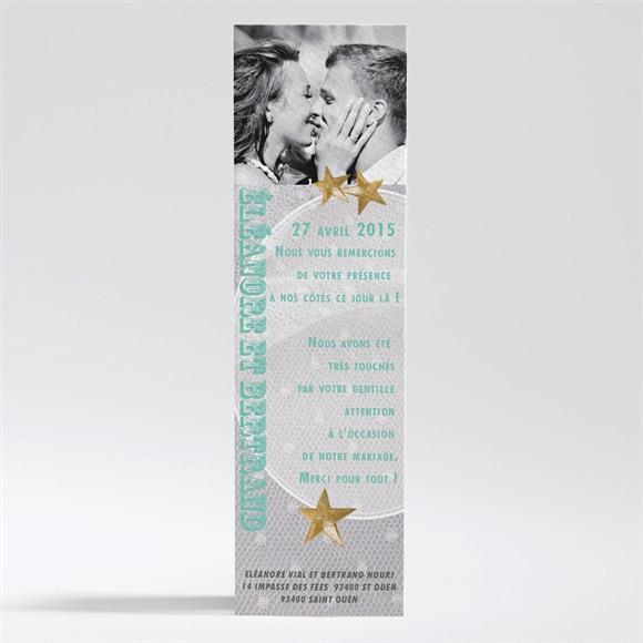 Remerciement mariage Féerie d'étoiles réf.N200268