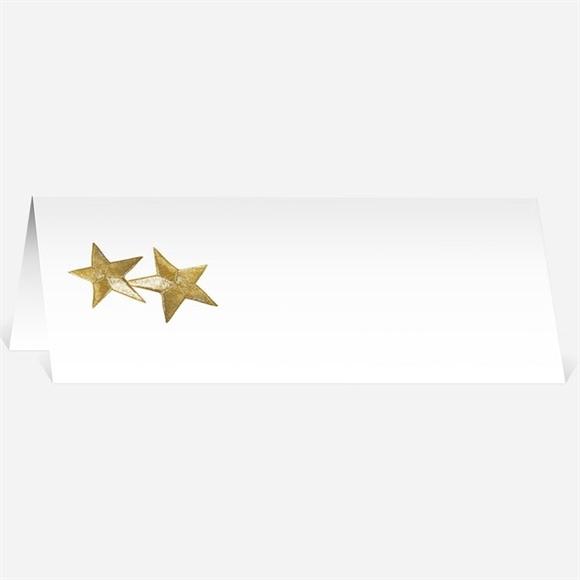 Marque-place mariage Féerie d'étoiles réf.N440252