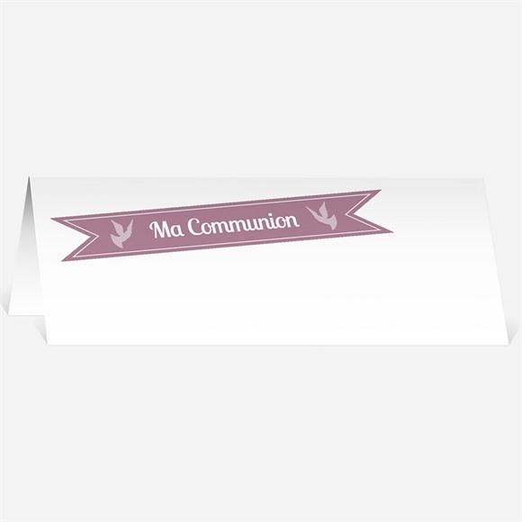 Marque-place communion Pois de lumière réf.N440263