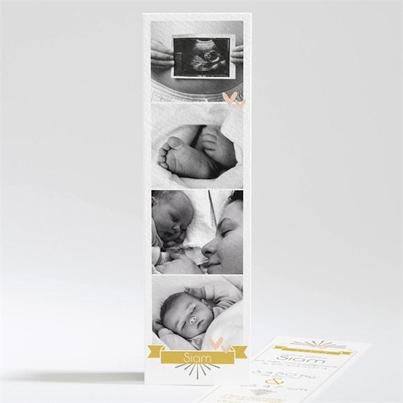 Faire-part naissance Cascade de photos réf.N20108