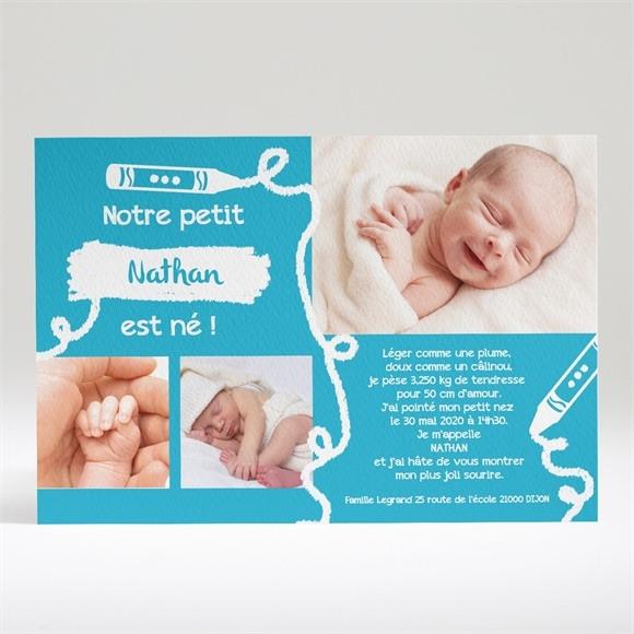 Faire-part naissance Belle Annonce originale réf.N14017