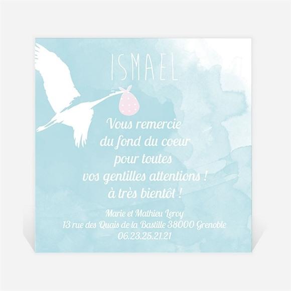Remerciement naissance La Cigogne réf.N300220