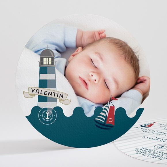 Faire-part naissance Petit matelot original réf.N32140