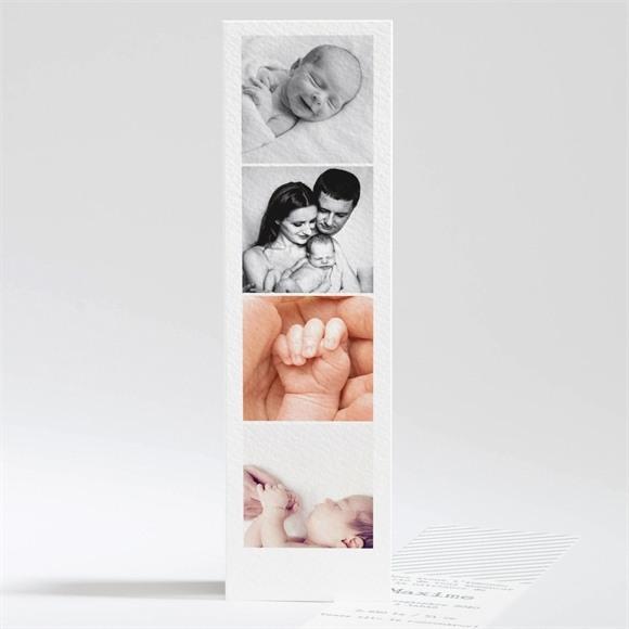 Faire-part naissance Tout en photos réf.N20109
