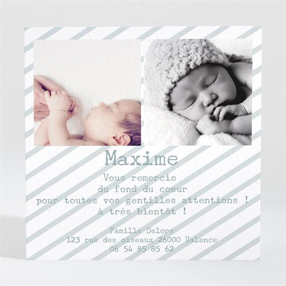 Remerciement naissance Tout en photos réf.N300277