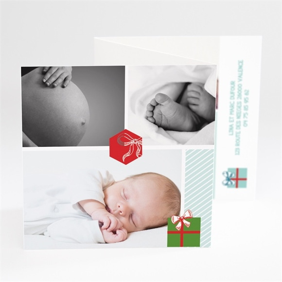 Faire-part naissance Notre petit Cadeau réf.N81025