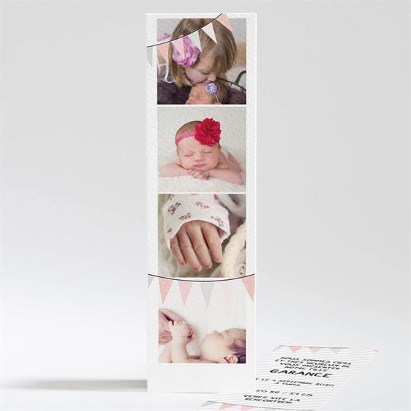 Faire-part naissance Photomaton 4 photos réf.N20110