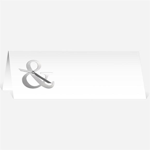 Marque-place mariage Esperluette et étiquettes réf.N440287