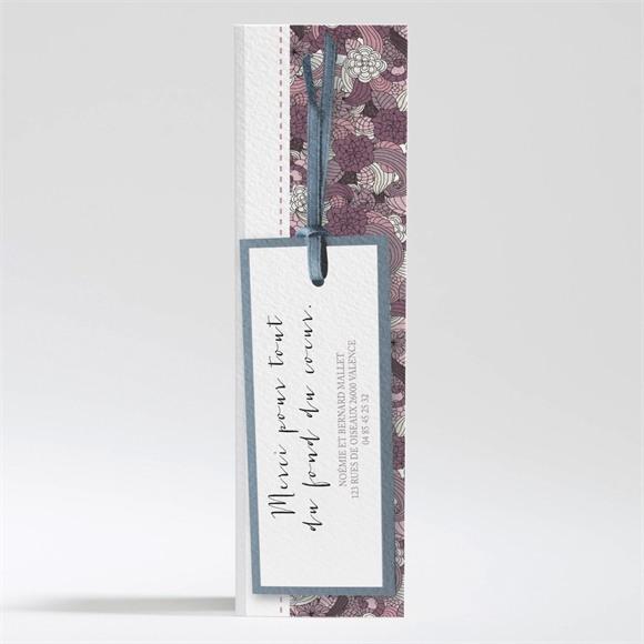 Remerciement mariage Invitation fleurie réf.N200272