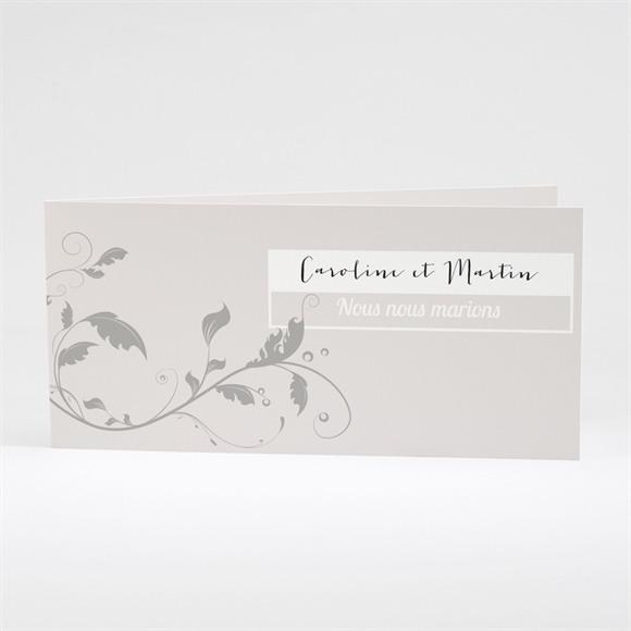 Faire-part mariage Fleurs et élégance réf.N43135