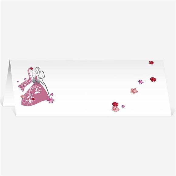 Marque-place mariage Un mariage illustré réf.N440298