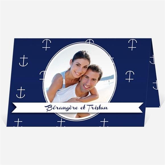 Faire-part mariage Les Ancres du Mariage réf.N401716