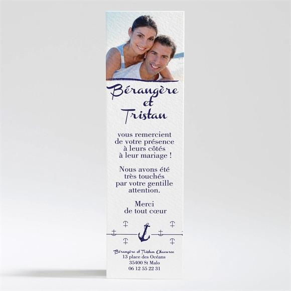 Remerciement mariage Les Ancres du Mariage réf.N200276