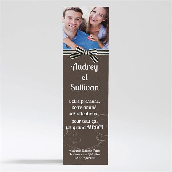 Remerciement mariage Chocolat et étiquettes réf.N200277