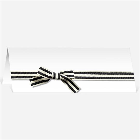 Marque-place mariage Chocolat et étiquettes réf.N440301