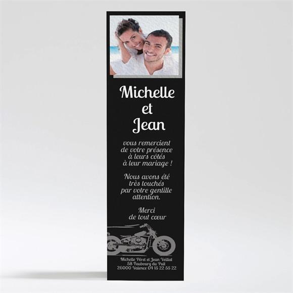 Remerciement mariage Amour et Vitesse réf.N200279
