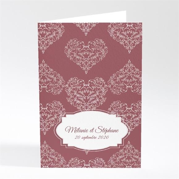Faire-part mariage Coeurs champêtres réf.N401362
