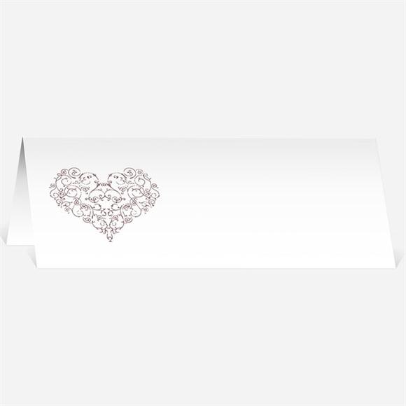 Marque-place mariage Coeurs champêtres réf.N440309