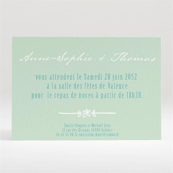 Carton d'invitation mariage A découvir réf.N120244