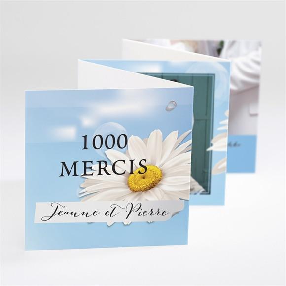 Remerciement mariage Jolie Marguerite ! réf.N80039