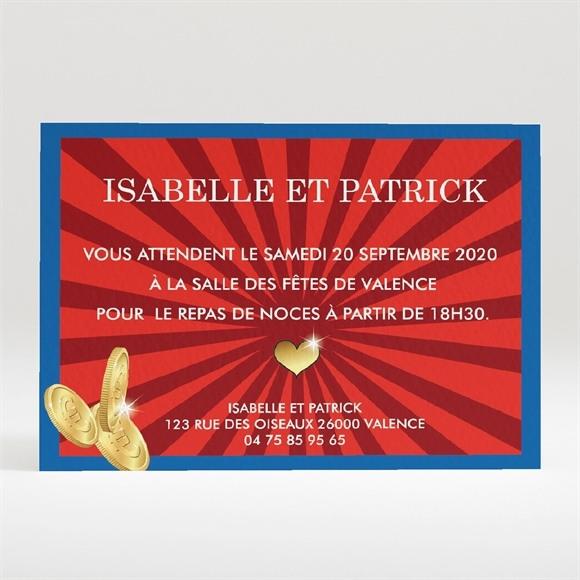 Carton d'invitation mariage Oh que Oui ! réf.N120246