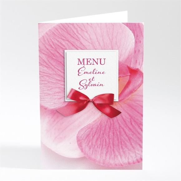 Menu mariage Pluie de fleurs réf.N401385