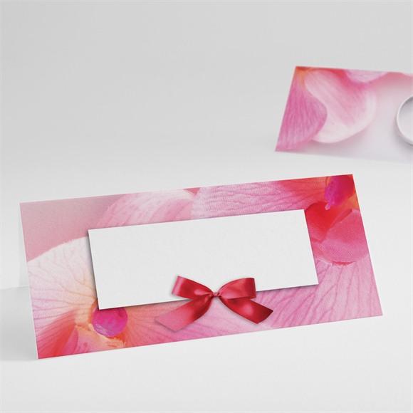 Marque-place mariage Pluie de fleurs réf.N440329