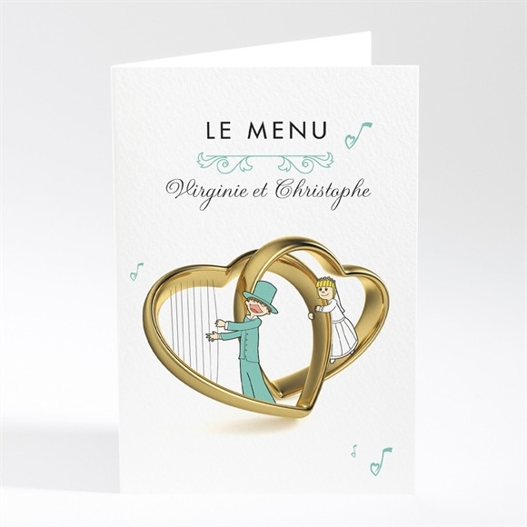 Menu mariage Belle Sérénade réf.N401388