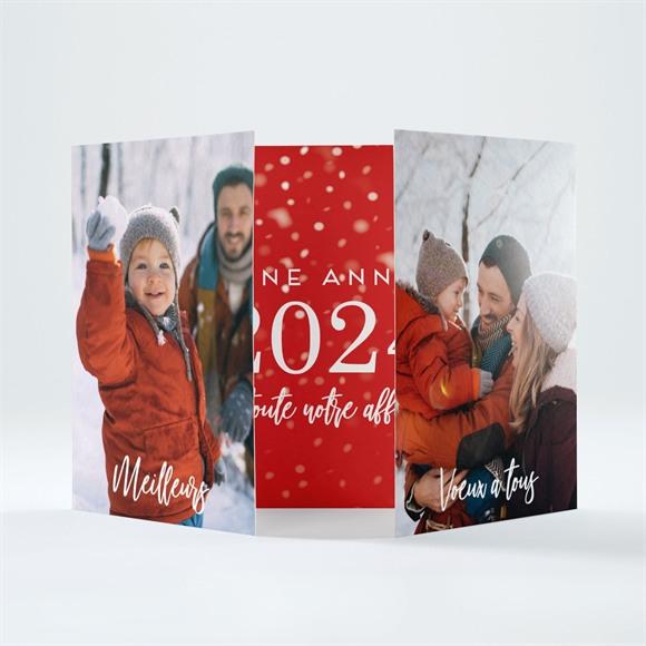 Carte de voeux Nos petites Frimousses réf.N70141