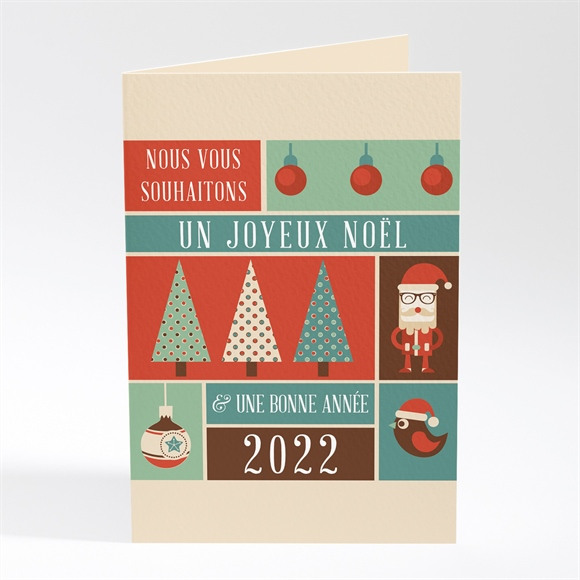 Carte de voeux Le plus beau des Noel réf.N401392