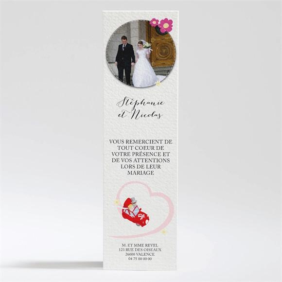 Remerciement mariage En route vers notre Bonheur réf.N200293